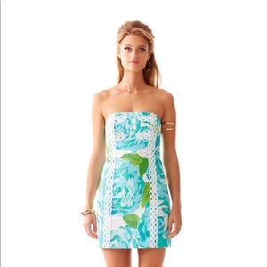 Lilly Pulitzer POOLSIDE BLUE TANSY dress